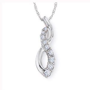Zales Diamond Infinity Necklace